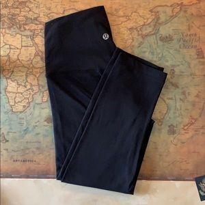 "Lululemon Align Crop 19"" leggings size 4 black"